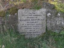 Headstone in Eyton Churchyard